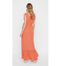 Florence s/l woven maxi dress