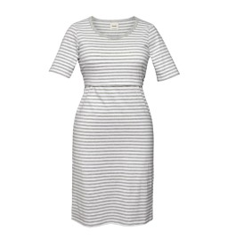 night dress white/grey melange