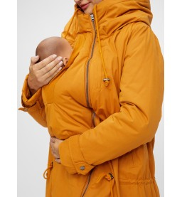 Carry me 3 in 1 padded Jacket Buckthorn Brown