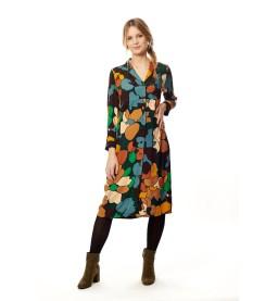 Kleid mit Knopfleiste 468-012