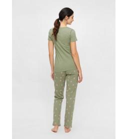 Chillflower Lia SS Jersey Pyjama
