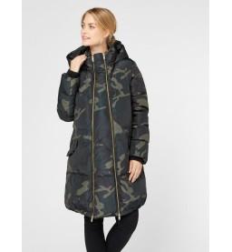 Camo 2 in 1 Tikka Padded long Coat