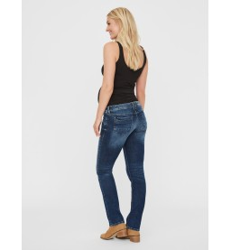 Bay straight dark blue Jeans