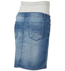 Frey med blue denim skirt