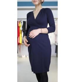 Comfy dress 7/( Sleeves navy