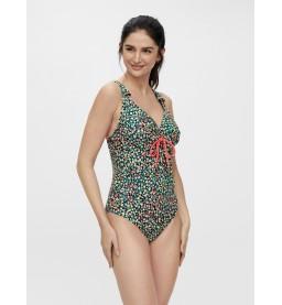 Russel nathalia printed swimsuit