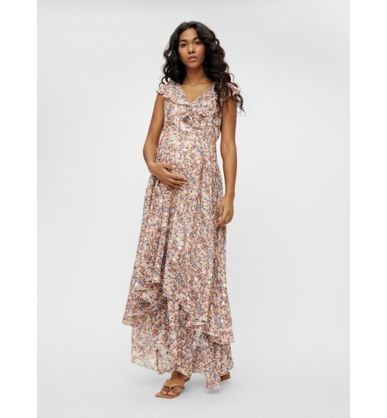 Jasmina Cap woven maxi dress